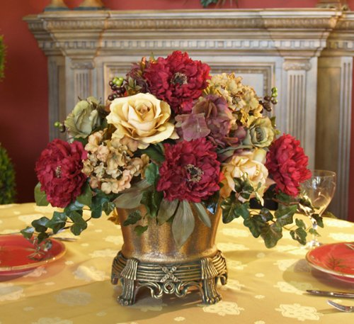 Dining room feng shui feng shui that makes sense by for Dining room flower arrangements