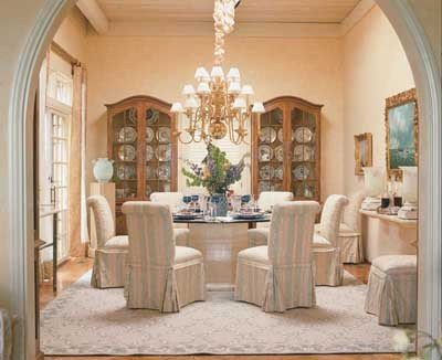 Formal Dining Room Centerpiece Ideas