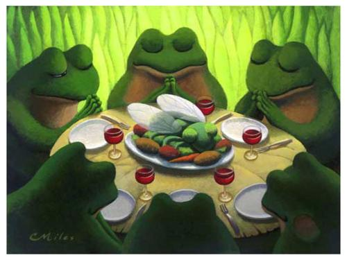 frog thanksgiving